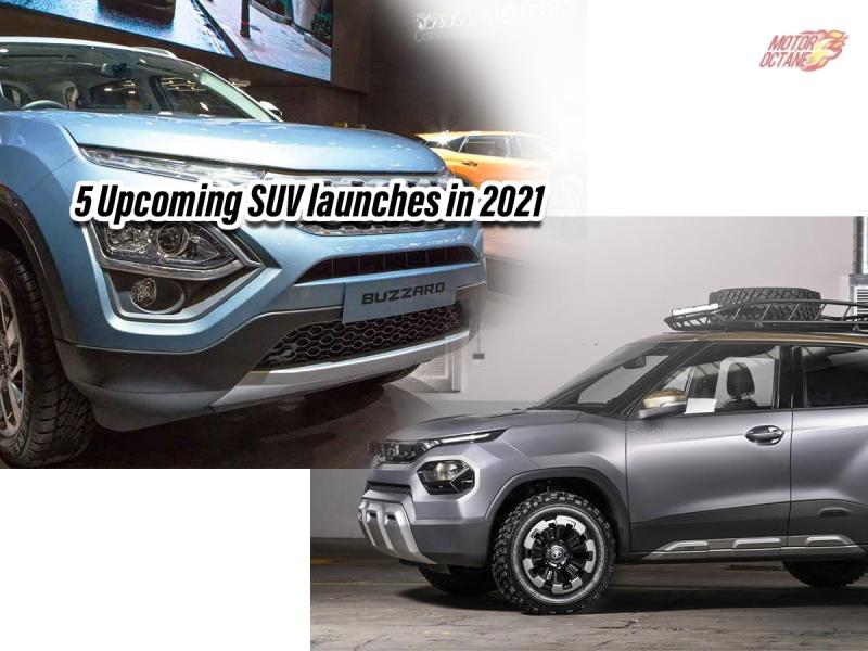 Top 5 Suv Launches Coming Soon In India 2021
