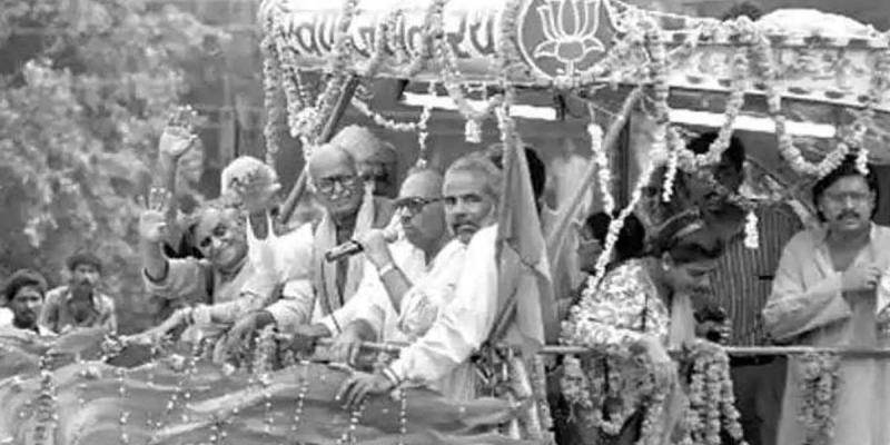 L.K. Advani, the Provocateur in Chief