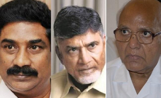 AP Govt Issues Notices To Chandrababu Andhrajyothy And EENADU