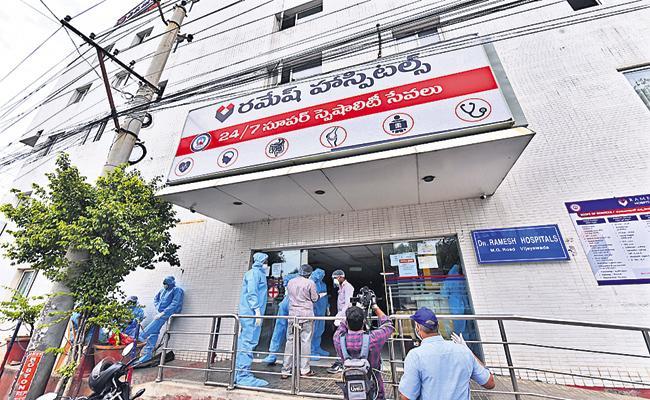 Andhra Pradesh High Court grants bail to Ramesh Hospital staff