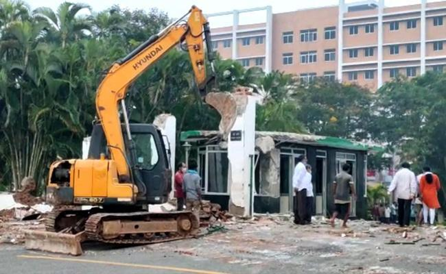 Andhra retrieves 20 acres encroached land from GITAM