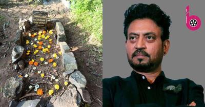 दिवंगत अभिनेता इरफान खान की कब्र गुलाब के फूलों से सजी,बड़े बेटे बाबिल ने साझा की तस्वीर