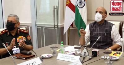 राजनाथ सिंह ने 44 पुलों का किया उद्घाटन, कहा-चीन एक मिशन के तहत पैदा कर रहा है सीमा विवाद