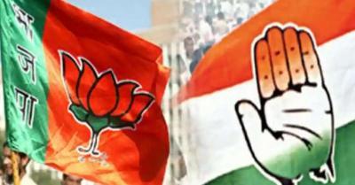 हाथरस की घटना को BJP सांसद ने बताया 'बनावटी', कांग्रेस ने जताई आपत्ति