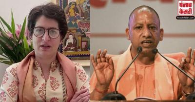 गोंडा की घटना को लेकर प्रियंका गांधी  का आरोप: उप्र में अपराधियों का हौसला बुलंद, सरकार फेल