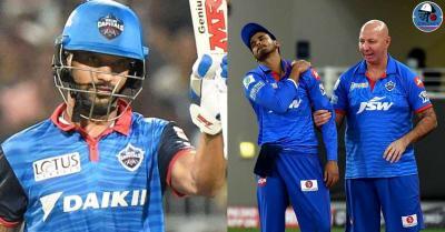 राजस्थान के खिलाफ मैच में श्रेयस अय्यर हुए चोटिल, कप्तान की गैर-मौजूदगी में शिखर धवन ने संभाली टीम की कमान