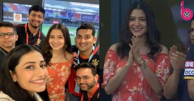 IPL 2020: RCB को चीयर करने स्टेडियम पहुंचीं अनुष्का शर्मा और धनश्री वर्मा, एक्ट्रेस बेबी बंप फ्लॉन्ट करती आईं नजर