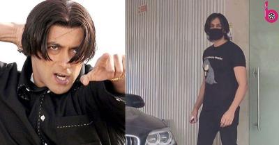 सलमान खान के 'तेरे नाम' लुक में नजर आए मशहूर अभिनेता कार्तिक आर्यन, फैंस ने पूछा- 'सर कौन-सा शैंपू?'