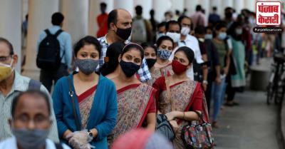दिल्ली में सोमवार को कोरोना संक्रमण के 2,154 नये मामले, संक्रमितों की कुल संख्या 3.33 लाख के पार