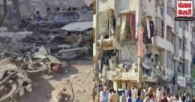 पाकिस्तान के कराची में जोरदार धमाका, 3 की मौत, 15 घायल