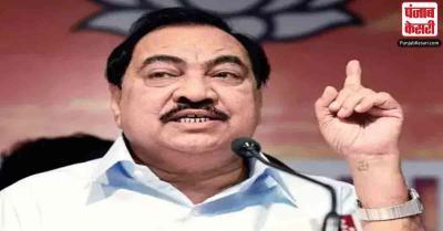 महाराष्ट्र : BJP के वरिष्ठ नेता एकनाथ खडसे NCP में होंगे शामिल