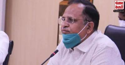 दिल्ली के स्वास्थ्य मंत्री ने केंद्र पर लगाया प्लाज्मा थेरेपी को लेकर राजनीति करने का आरोप