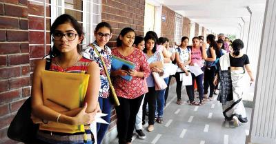 DU Admission 2020 : दिल्ली युनिवर्सिटी में 82 % से अधिक सीटें भरी, आज आ सकती है तीसरी कट ऑफ सूची
