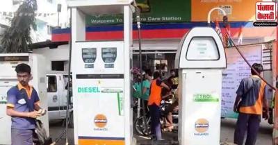 पेट्रोल और डीजल के दामों में बढ़ोतरी पर ब्रेक जारी, जानिए रेट