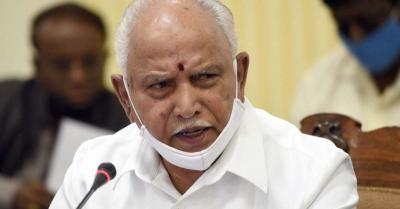 कर्नाटक में भारी बारिश के पूर्वानुमान के मद्देनजर CM येदियुरप्पा ने अधिकारियों को किया अलर्ट