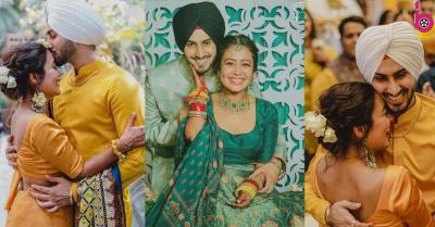 नेहा कक्कड़ और रोहनप्रीत सिंह की हल्दी और महेंदी की फोटोज आई सामने, जल्द होगी शादी