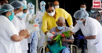 देश में संक्रमणमुक्त मरीजों का आंकड़ा 70 लाख के पार, रिकवरी रेट 90 प्रतिशत के करीब