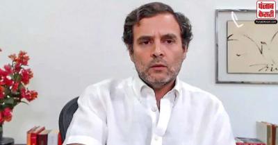 जीडीपी में गिरावट को लेकर राहुल का PM मोदी पर हमला, कहा- वो देश को सच्चाई से भागना सिखा रहे है
