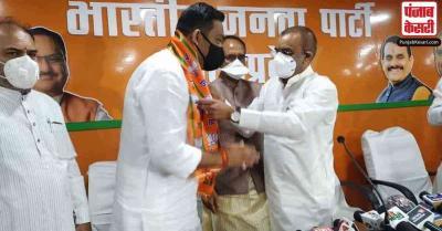 MP : आगामी उपचुनाव से पहले कांग्रेस को बड़ा झटका, राहुल सिंह लोधी BJP में हुए शामिल