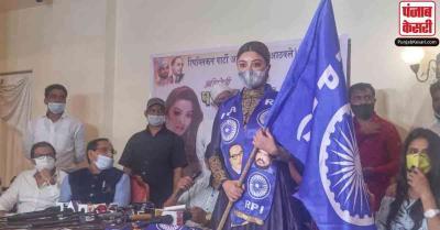 अनुराग कश्यप पर बलात्कार का आरोप लगाने वाली अभिनेत्री पायल घोष अठावले की पार्टी में हुईं शामिल