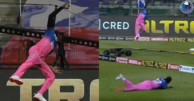 जोफ्रा आर्चर ने मुंबई के खिलाफ मैच में पकड़ा ये अद्भुत कैच, सचिन ने कहा- 'घर का बल्ब बदल रहे थे'