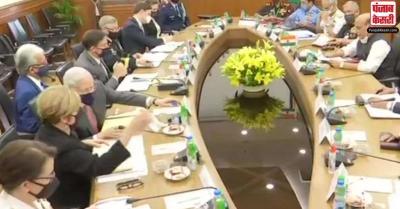 'भारत-अमेरिका के बीच सैन्य वार्ता सफल, BECA पर करेंगे साइन