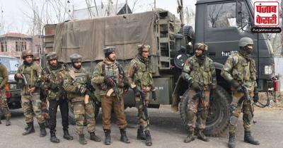 शीर्ष सैन्य कमांडर ने कहा : कश्मीर में संघर्ष विराम उल्लंघन की घटनाओं में आई कमी