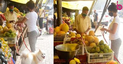 मलाइका अरोड़ा ठेले वाले से फल खरीदती हुई नजर आईं, देखें एक्ट्रेस की खूबसूरत तस्वीरें