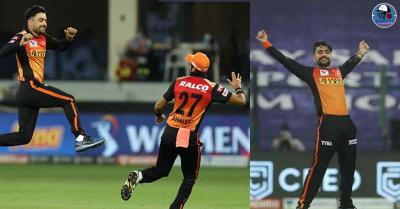 IPL 2020 में मिस्ट्री स्पिनर बने राशिद खान, हरभजन सिंह भी रहस्यमयी गेंदबाजी देखकर रह गए हैरान