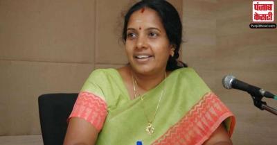 भाजपा ने वानती श्रीनिवासन को महिला मोर्चा का राष्ट्रीय अध्यक्ष नियुक्त किया