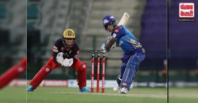 MI vs RCB : मुंबई इंडियंस ने रॉयल चैलेंजर्स बैंगलोर को 5 विकेट से हराया
