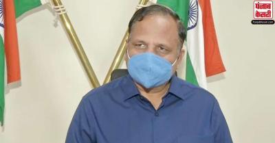 दिल्ली में कोरोना की तीसरी लहर शुरू यह कहना अभी होगी बहुत जल्दबाजी : सत्येंद्र जैन