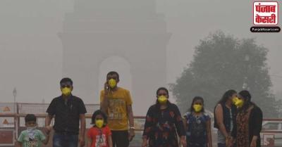 दिल्ली के लोगों पर कोरोना और प्रदूषण की दोहरी मार