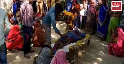 उत्तर प्रदेश : राजनीतिक दुश्मनी के चलते अमेठी में ग्राम प्रधान के पति को जिंदा जलाया