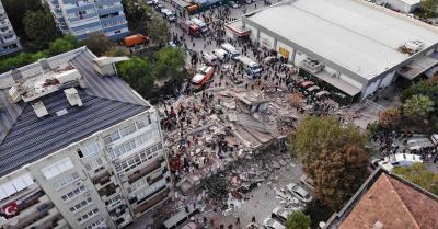 तुर्की में भूकंप से मरने वालों की संख्या हुई 114, एक हजार से ज्यादा लोग घायल