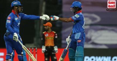 DC vs SRH : दिल्ली ने हैदराबाद को जीत के लिए दिया 190 रनों का लक्ष्य