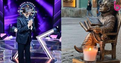 पोलैंड में दिवाली के मौके पर हरिवंश राय बच्चन की मूर्ति के आगे जलाया गया दिया, अमिताभ बच्चन हुए भावुक