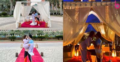 नेहा कक्कड़ ने शेयर की पति रोहनप्रीत संग हनीमून की रोमांटिक तस्वीरें,खुले आसमान के नीचे लिप लॉक करती दिखीं