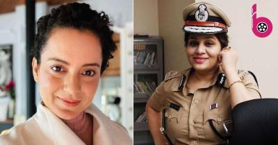 अब कंगना रनौत ने आईपीएस ऑफिसर पर साधा निशाना, बोलीं- ऐसे ऑफिसर पुलिस विभाग के लिए धब्बा