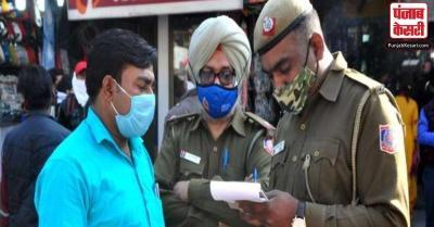 दिल्ली में मास्क नहीं पहनने पर 1306 लोगों पर ठोंका जुर्माना