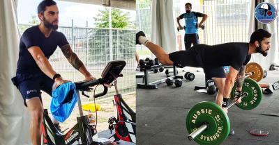 कप्तान विराट कोहली ने ऑस्ट्रेलिया दौरे से पहले जिम में जमकर बहाया पसीना, वर्कआउट की तस्वीरें की शेयर