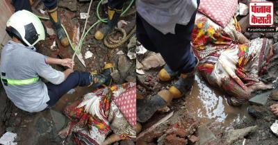 मुंबई : सार्वजनिक शौचालय की दीवार गिरने से महिला की मौत