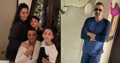 संजय दत्त परिवार संग दुबई में मौजूद,सफेद बालों के साथ नया लुक हुआ वायरल