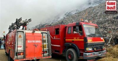 गाजीपुर लैंडफिल साइट में खुद से आग नहीं लगी, बल्कि भाजपा के लोगों ने लगाई : आम आदमी पार्टी
