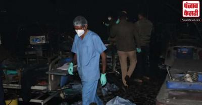 गुजरात : कोविड-19 अस्पताल में आग लगने मारे गए मरीजों को चार-चार लाख रुपये मुआवजे का ऐलान