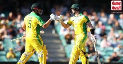 सिडनी वनडे : भारत के खिलाफ ऑस्ट्रेलिया ने पहले मैच में बनाया 374 रनों का विशाल स्कोर