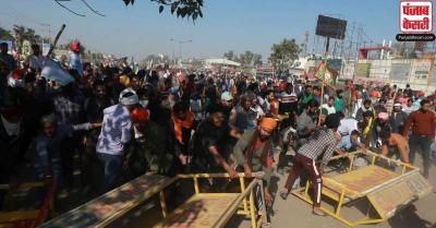 हरियाणा : प्रदर्शनकारी किसान नेताओं पर हत्या के प्रयास और दंगा करने के आरोप में मामला दर्ज