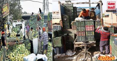 किसान आंदोलन से देश की राजधानी में फलों, सब्जियों की आपूर्ति पर असर