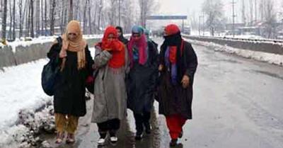 जम्मू-कश्मीर और लद्दाख में बादल छाए रहने के कारण रात के तापमान में मामूली सुधार
