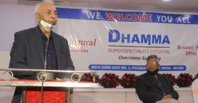 बिहार में चिकित्सीय व्यवस्था का अभाव मरीजों को खल रहा है : डा. वर्मा